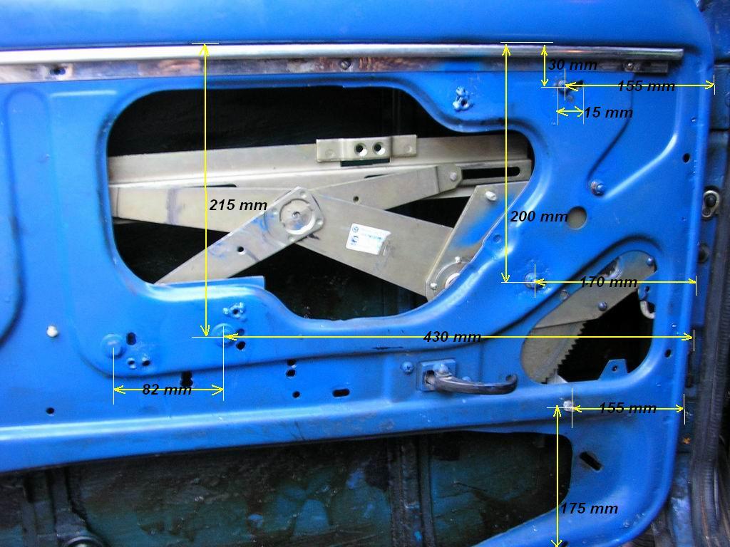Фото №21 - установка рычажного стеклоподъемника на ВАЗ 2110